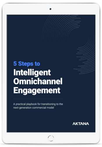 Cover of the eBook 5 Steps to Intelligent Omnichannel Engagement